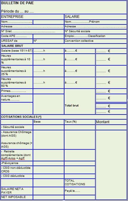 4e556577fd5 Le bulletin de salaire et la loi – CFTC – Xerox France