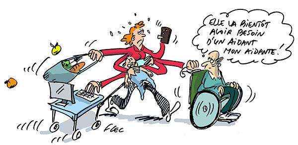 Read more about the article Le congé de proche aidant : qu'est-ce que c'est ? Qui peut en bénéficier ?
